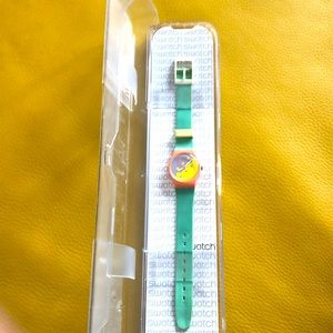 Rare 1980's Swatch Watch. Unique woman's watch